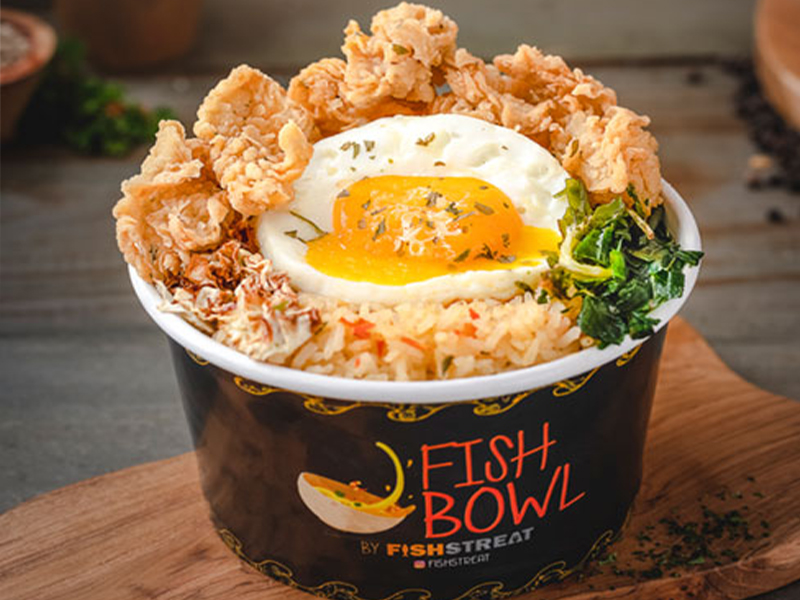 EGGSY SPICE RICE BOWL WITH FISH