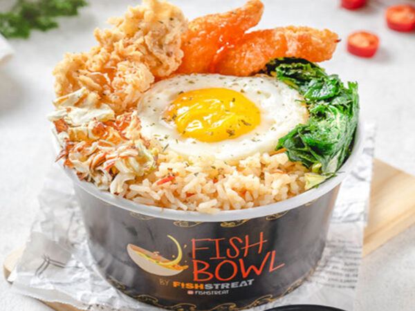 EGGSY SPICE RICE BOWL WITH SHRIMP